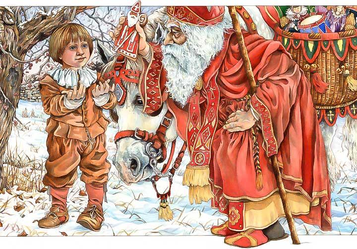 ... Saint Nicholas, St. Nicholas, Christmas Stories and Legends, Christmas