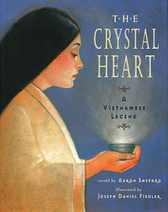 Book cover: The Crystal Heart