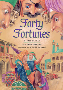 Book cover: Forty Fortunes
