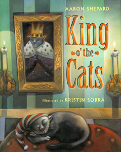 Book cover: King o' the Cats