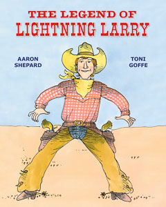Book cover: The Legend of Lightning Larry