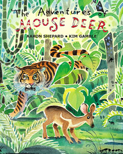 Book cover: The Adventures of Mouse Deer