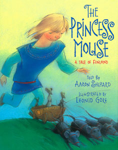 Book cover: The Princess Mouse