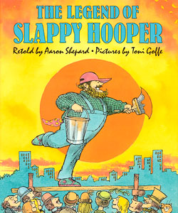 Book cover: The Legend of Slappy Hooper