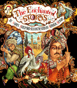 Book cover: The Enchanted Storks