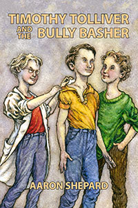 Book cover: Timothy Tolliver and the Bully Basher
