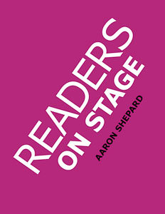 Book cover: Readers on Stage